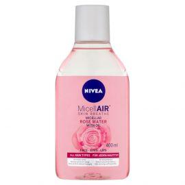 Nivea MicellAir Rose Touch micelárna voda 400ml 82366