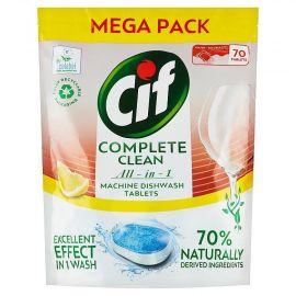 Cif Complete Clean Lemon 70% Naturally 70ks tablety do umývačky riadu