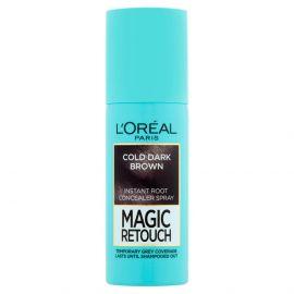 Loreal Magic Retouch 8 Cold Dark Brown sprej na okamžité zakrytie odrastov 75ml
