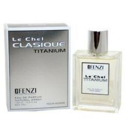 JFENZI Le´CHel CLASIQUE Titanium pánska parfumovaná voda 100ml