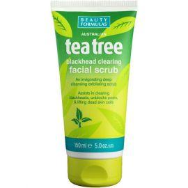 Beauty Formulas pleťový peeling Tea Tree 150ml