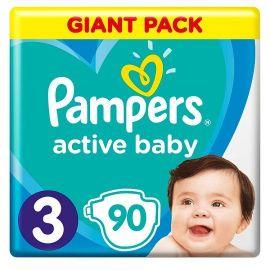 Pampers Active Baby GP3  Midi 90ks  6-10kg