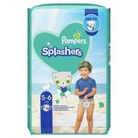 Pampers Splashers 5-6 plienky do vody 14kg+ 10ks