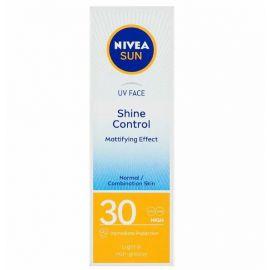 Nivea Sun Shine Control OF30 pleťový krém zmatňujúci na opaľovanie 50ml