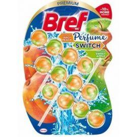 Bref Perfume Switch Peach & Apple WC blok 3x50g