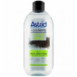 Astrid AQUA BIOTIC micelárna pleťová voda 3v1 Aktívne uhlie 400ml