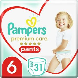 Pampers Pants Premium S6 31ks 15+kg