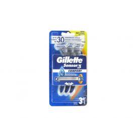 Gillette Blue3 Comfort jednorázový strojček 3ks