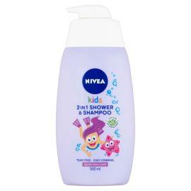 Nivea Kids Girl sprchový gél 2v1 500ml 84585