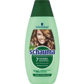 Schauma 7 Herbs Bylinný šampón pre normálne až mastné vlasy 250ml