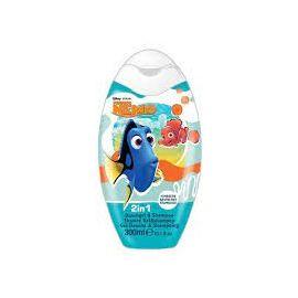 Disney Nemo detský šampón na vlasy 2v1 Malina 300ml