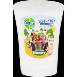 Dettol tekuté mydlo Kids ZOO Honey náplň do bezdotykové dávkovača 250ml