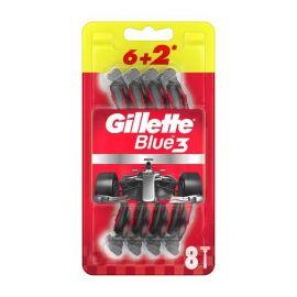 Gillette Blue3 jednorázový holiaci strojček 8ks