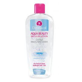 Dermacol Aqua Beauty odličovacia a čistiaca Micelárna voda 400ml