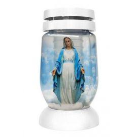 Bolsius Svätá Mária sviečka sklo 36hod. 120g 36458