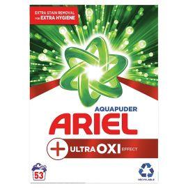 Ariel ULTRA OXI prášok na pranie box 3975kg 53 praní