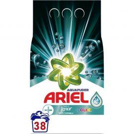 Ariel prášok na pranie Aqua Puder Color 2850g 38 praní