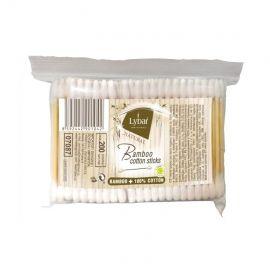 Lybar bambusové vatové tyčinky 100% bavlna 200ks