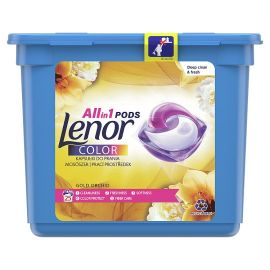 Lenor All in1 25 praní Gold Orchid Color kapsule na pranie