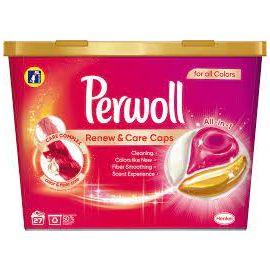 Perwoll Renew & Care Caps Color tablety kapsule na pranie 27ks