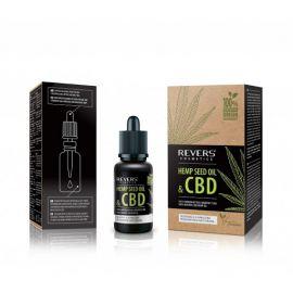 Revers Cosmetics Hemp Seed Oil & CBD konopný olej 15ml