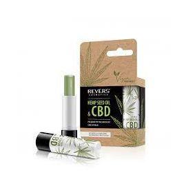 Revers Cosmetics Hemp Seed Oil & CBD konopný balzám na pery 4g