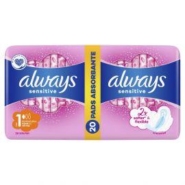 Always Duo Ultra Normal Plus Sensitive 20ks hygienické vložky