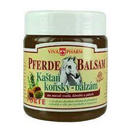 VivaPharm Pferde Balsam extra silný bylinný balzám s gaštanom konským 500ml