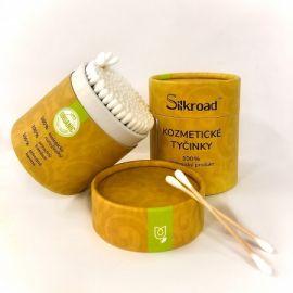 Silkroad Eco 100% vatové tyčinky 200ks