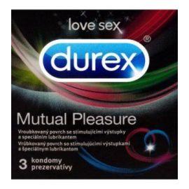 Durex Mutual Pleasure kondóm 3ks
