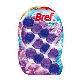 Bref Brilliant gél All in 1 Magic Breeze WC blok 3x42g