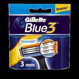 Gillette Blue3 náhradné hlavice 3ks