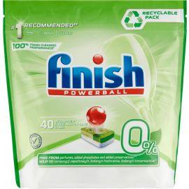 Finish tabs Powerball ECO 0% 40ks do umývačky riadu