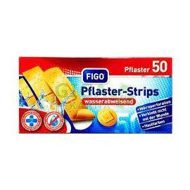 Figo Plaster-Strips  vodeodolné náplaste 4 veľkosti 50ks