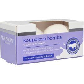 Vivaco kúpeľová bomba s Kozím Mliekom 2x75g
