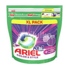 Ariel All in1 Pods 46 praní Color & Style kapsule na pranie