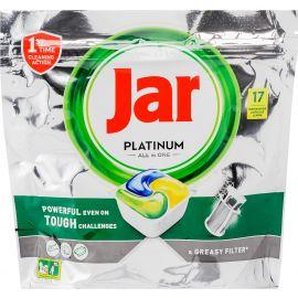 Jar Platinum Plus ALL IN ONE tablety do umývačky riadu 17ks