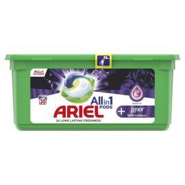 Ariel All in1 Power 30 praní Unstoppables kapsule na pranie
