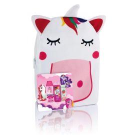 FA Kids Girl Jednorožec darčekový batoh sprchový gél, šampón, zubná pasta