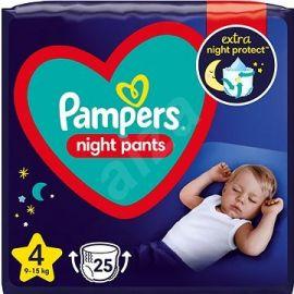 Pampers Night Pants S4 9-15kg 25ks