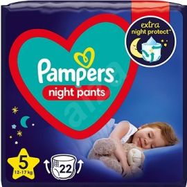 Pampers Night Pants S5 12-17kg 22ks
