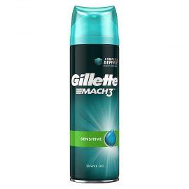 Gillette Mach3 Pure Sensitive gél na holenie 200ml