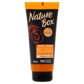 Nature Box sprchový gél peeling Apricot 200ml
