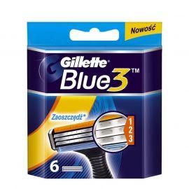 Gillette Blue3 náhradné hlavice 6ks