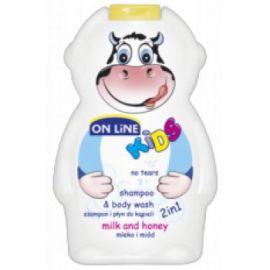On Line Milk&Honey šampón na vlasy 2v1 250ml