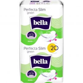 Bella perfecta 10+10ks Green Silky drai hygienické vložky