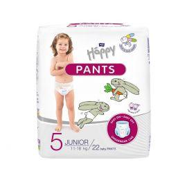 Bella Happy Pants5 plienky 22ks Junior  11-18kg