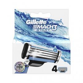 Gillette Mach3 Start náhradné hlavice 4ks