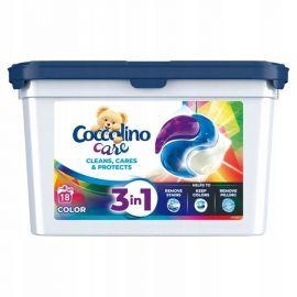 Coccolino Care 3v1 18 praní Color kapsule na pranie