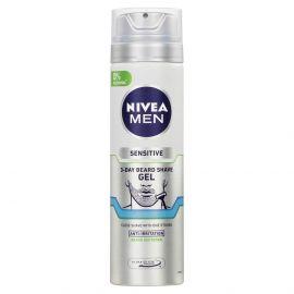 Nivea Men Sensitive na 3-dňové strnisko gél na holenie 200ml 81739